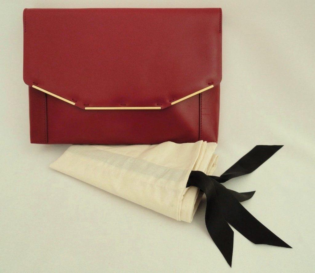 red lanvin bag