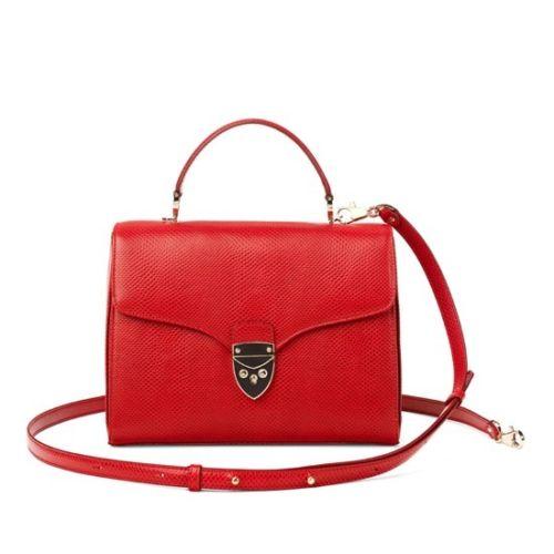 red aspinal bag