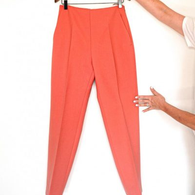 Delpozo wool high rise tapered pants