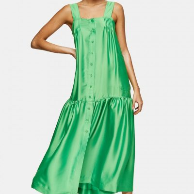 tOPSHOP GREEN DRESS