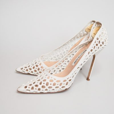 Manolo Blahnik Reloved Again second hand