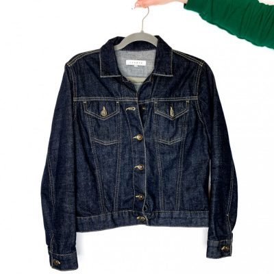 Sandro dark blue denim jacket