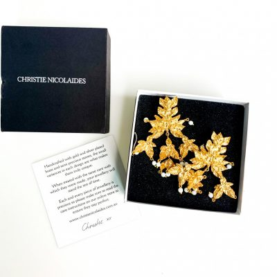 Christie Nicolaides earrings new with box