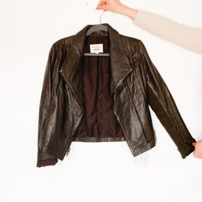 Trilogy Harely brown leather jacket