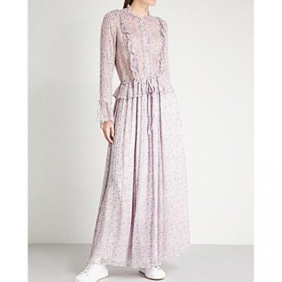 Zadig and Voltaire Roma Goa chiffon dress