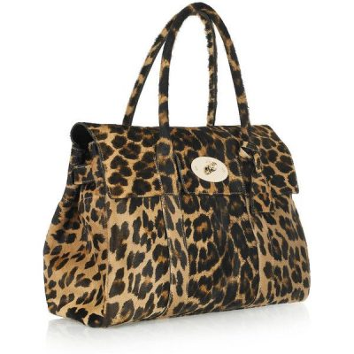 Mulberry Bayswater bag in leopard pony skin