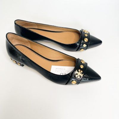Tory Burch patent pointed flats